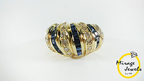 Mirage Jewels 18k Japan Gold rings
